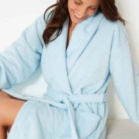 Dry cleaining of dressing gown